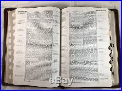 1983 NIV (1978) Thompson Chain Reference Bible Genuine Leather 1st Print Indexed