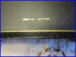 1983 THOMPSON CHAIN-REFERENCE BIBLE NIV Genuine Leather + Leather Zip Case