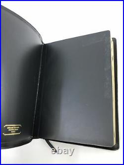 1988 5th Thompson Chain Reference Bible KJV Genuine Leather 506 Indexed USA
