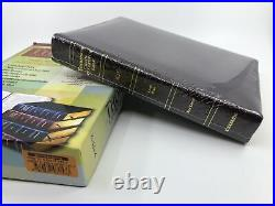 1988 5th Thompson Chain Reference Bible KJV Genuine Leather Indexed Large Print