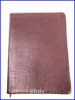 1988 Thompson Chain Reference Bible KJV Large Print Deluxe Genuine Leather USA