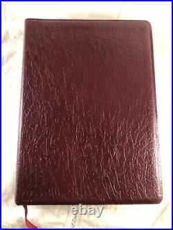 1990 Thompson Chain Reference Bible Second Improved NIV 1984 Genuine Leather 812
