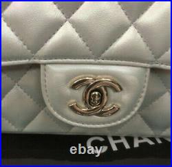 CHANEL Chain Bag White Genuine Products Near MINT Beautiful Used Brand Japan