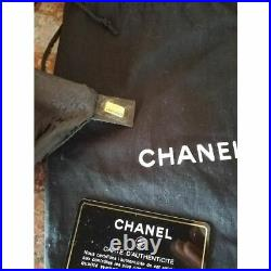 Chanel shoulder bag Detachable Chain In Real Black Fur And Leather With Charm