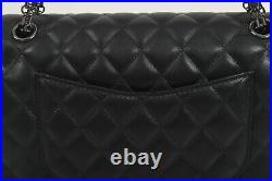 Classic Quilted 2.5 Med Double Flaps Chain Shoulder Bag Real Sheepskin Leather