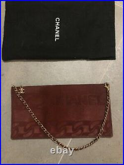 Genuine Chanel Clutch With Chain