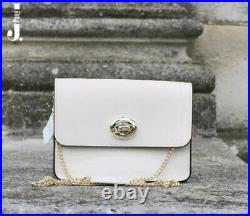 Genuine Coach Small White (Chalk) Crossbody Chain Bag Brand New With Tags