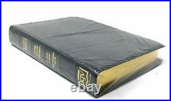 KJV Black Genuine Leather Large Print Indexed Thompson Chain Reference Bible