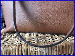 Lovely 100% Genuine MICHAEL KORS Jet Set Chain Tote Tan Brown Saffiano Leather