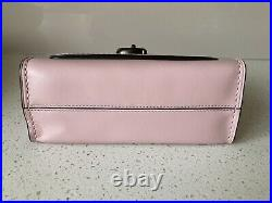 New Genuine Coach Parker 18 Crossbody Chain Bag Aurora Pink Smooth Leather