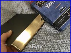 RARE OOP Thompson Chain Reference Bible Genuine Leather Kirkbride NIV Handy Size