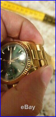 Real Rolex 18k Yellow Gold President Band 20mm 18038 118138