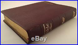 Thompson Chain Reference Bible 1964 Red Genuine Cowhide Leather Letter indexed
