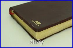 Thompson Chain Reference NIV 50th Anniversary Bible 1983 Genuine Leather RARE