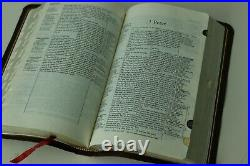 Thompson Chain Reference NV Red Letter Bible 1983 Thumb Index Indexed Genuine